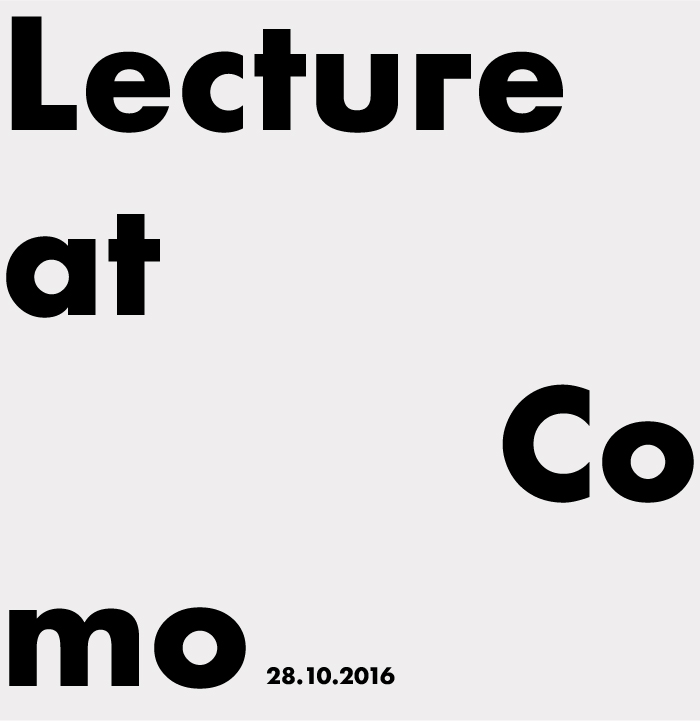 GFC architecture - Lecture in Como